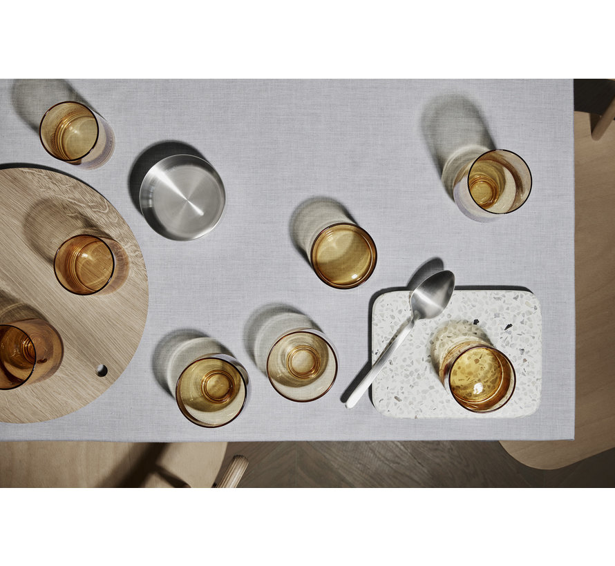 FLOW longdrinkglazen kleur Dull Gold (63922) set/2
