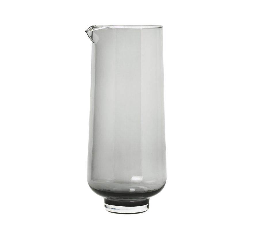 FLUJO agua jarra color humo (63920)