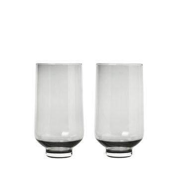 Blomus Vasos de bebida larga FLOW Smoke (set / 2)