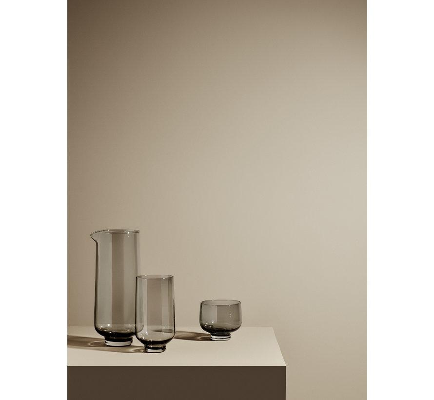 Juego de vasos FLOW long drink color Smoke (63919) / 2