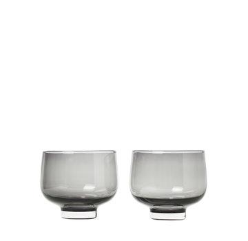 Blomus FLOW vasos para beber Smoke (set / 2)