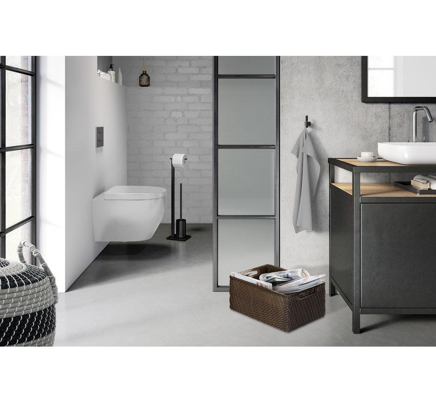 CARVO toiletbutler 40508 (zwart)