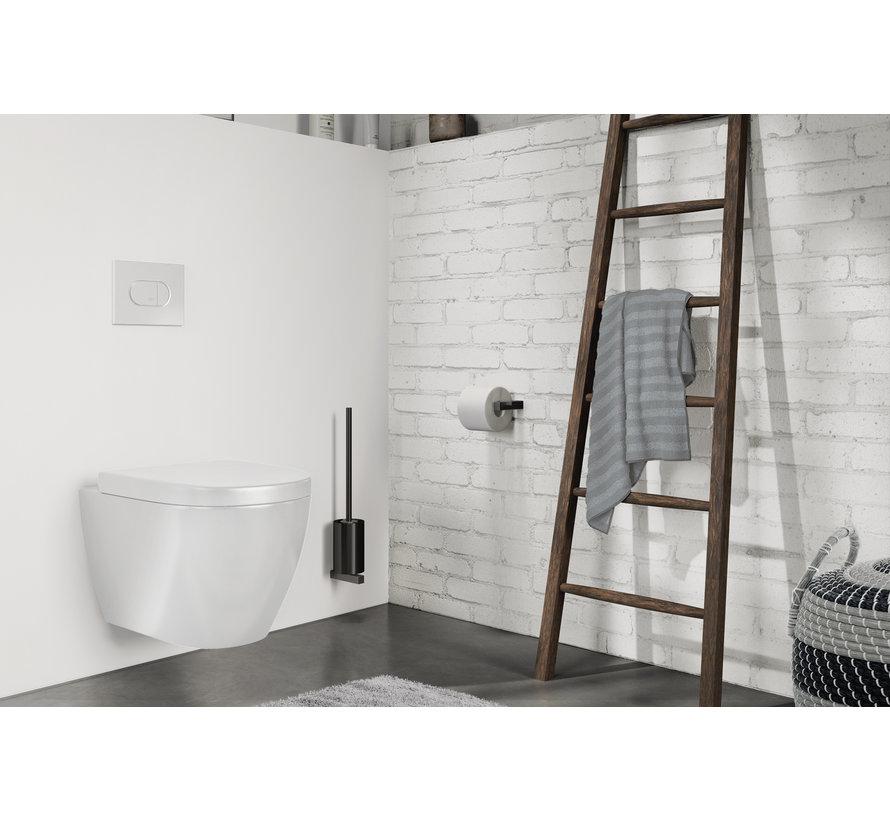 CARVO escobilla de baño set pared 40507 (negro)