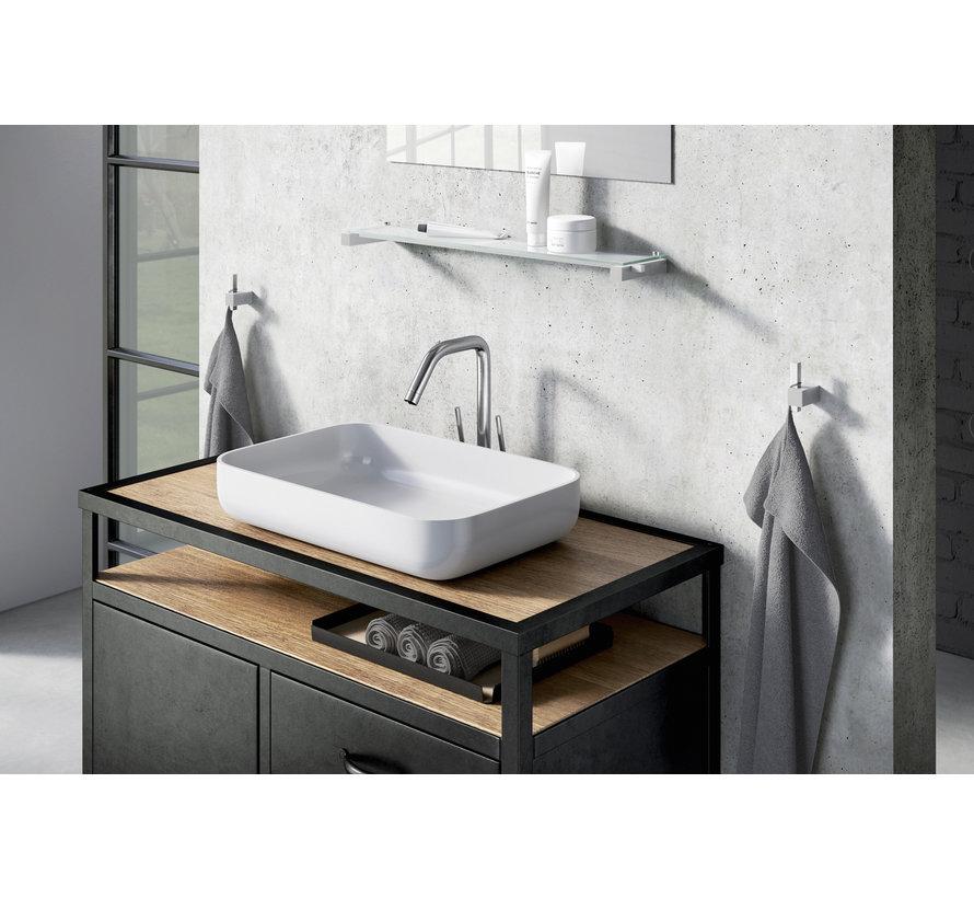 CARVO håndklædekrog 40483 (børstet rustfrit stål)