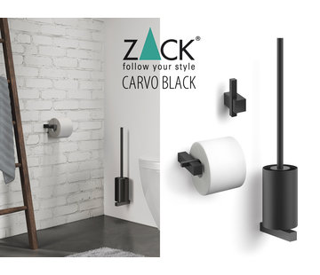 ZACK CARVO 3-part basic package (black)