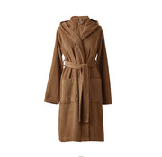 Aquanova Bathrobe OSLO Cinnamon-804 (hood)