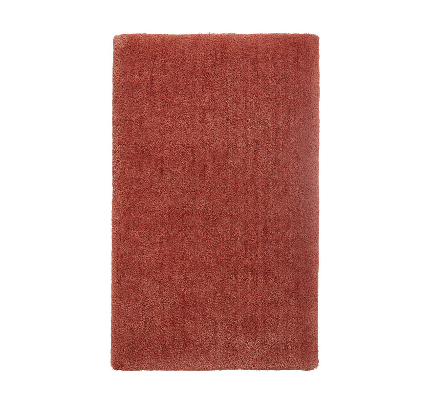 MAURO bath mat color Brandy, cognac (MAUBM-203)