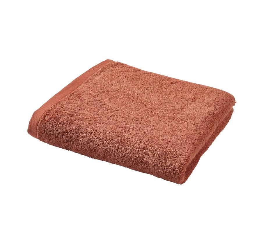 Badehåndklæde LONDON farve abrikos-193 (70x130 cm) sæt / 3 stk