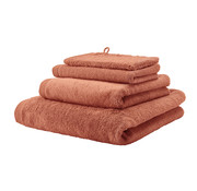 Aquanova Bath towel LONDON color apricot-193 (70x130cm) set / 3 pieces