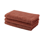 Aquanova Gastendoek LONDON kleur brandy-203 set/6 stuks