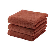 Aquanova Towel LONDON color Brandy-203 (55x100cm) set / 3 pieces