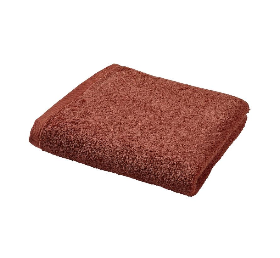 Badehåndklæde LONDON farve brandy-203 (70x130cm) sæt / 3 stk