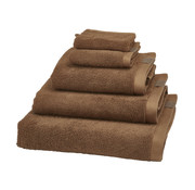 Aquanova Guest towel set / 6 OSLO color Cinnamon-804