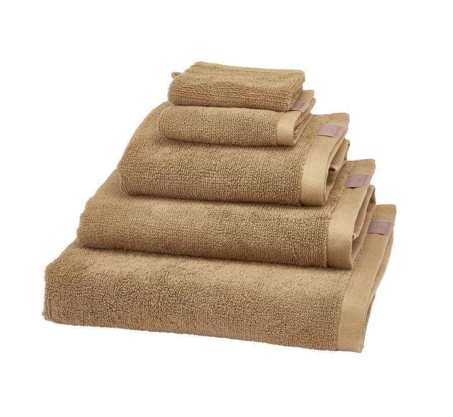 Badehåndklæde (70x130cm) sæt / 3 OSLO farve Ginger-299