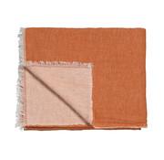Vandyck HOME 83 plaid 130x220 cm Brick Dust
