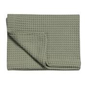 Vandyck HOME Pique waffle blanket 270x250 cm Light Olive-123