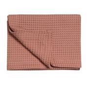Vandyck HOME Pique 160x250 cm waffle blanket Brick Dust-124