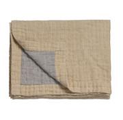 Vandyck PURE 45 plaid / bedspread 160x250 cm Light Honey (cotton / linen)