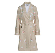 Vandyck Bathrobe DAKOTA Sand (floral print)