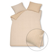 Vandyck Duvet cover PURE 41 Light Honey 140x220 cm (linen / cotton)