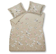 Vandyck Duvet cover RESOURCEFUL Sand 140x220 cm (satin cotton)