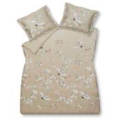 Vandyck Duvet cover RESOURCEFUL Sand 240x220 cm (satin cotton)
