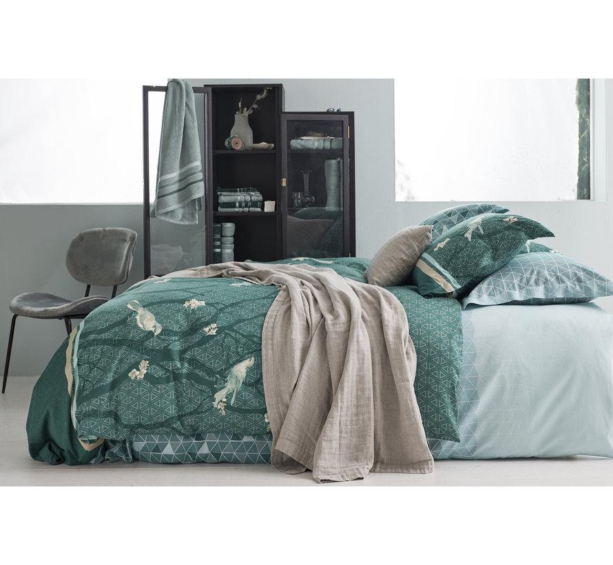 Bettbezug UNLOCK Mint Green 140x220 cm (Satin) SABB20103