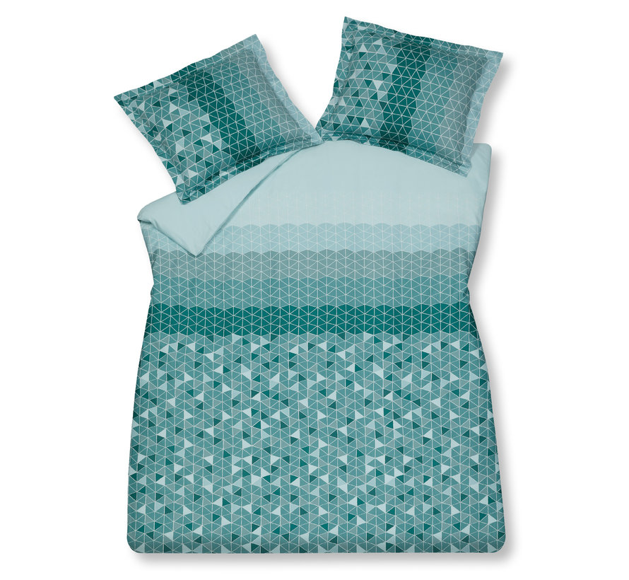 Duvet cover UNLOCK Mint Green 240x220 cm (satin) SABB20103