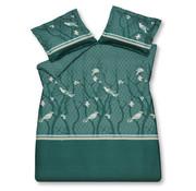 Vandyck Duvet cover SMALL BIRDS Mint Green 240x220 cm (satin cotton)