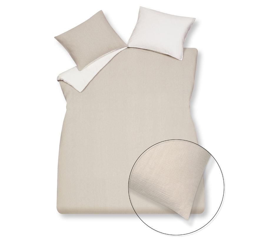 Duvet cover HOME 88 Stone 140x220 cm (cotton) HCSA20188