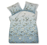 Vandyck Duvet cover UNCONDITIONAL Dusty Blue 140x220 cm (satin cotton)