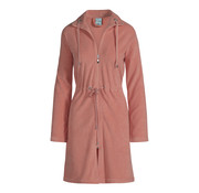 Vandyck VOGUE bathrobe Brick Dust-124