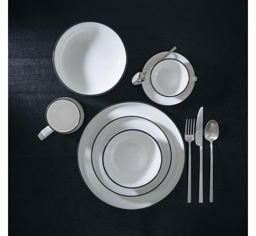 STUDIO BASE bowl 14 cm white (set / 4) 850010
