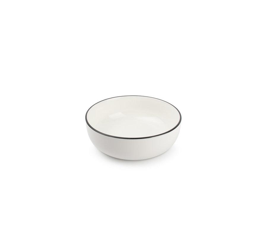 STUDIO BASE skål 17,5 cm hvid (sæt / 4) 850011