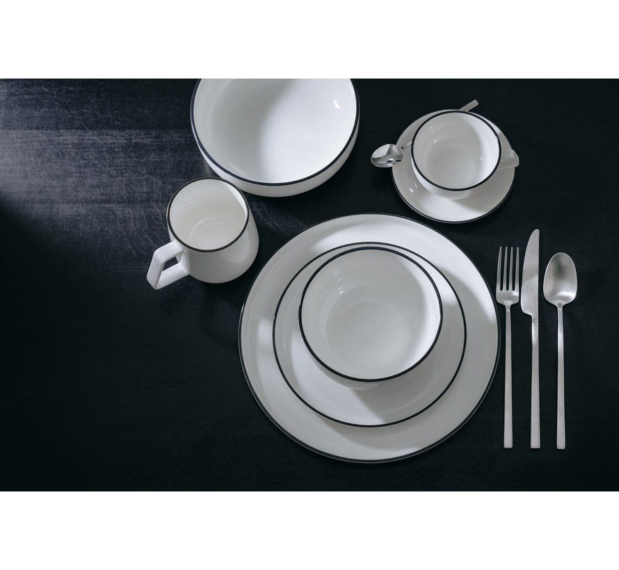 STUDIO BASE bowl 17.5 cm white (set / 4) 850011