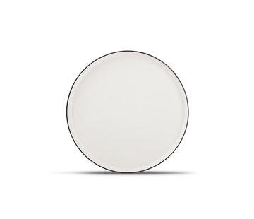 S&P STUDIO BASE flad plade 27 cm hvid (sæt / 4)