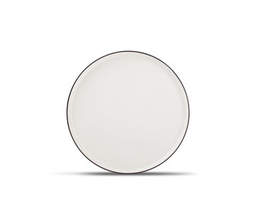 S&P STUDIO BASE flat plate 27 cm white (set / 4)