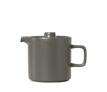 Blomus PILAR teapot Pewter (1.0 liter)
