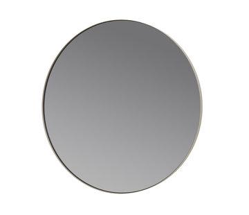 Blomus RIM wandspiegel 50 cm (Steel Grey)