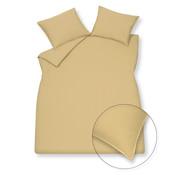 Vandyck Bettwäsche aus gewaschener Baumwolle 140x220 cm Leichter Honig (Baumwolle)