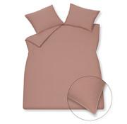 Vandyck Bettwäsche aus gewaschener Baumwolle 140x220 cm Ziegelstaub (Baumwolle)