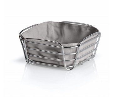 Blomus DELARA bread basket 20x20 cm (taupe)