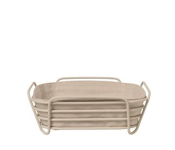 Blomus DELARA bread basket 26x26 cm (Nomad)