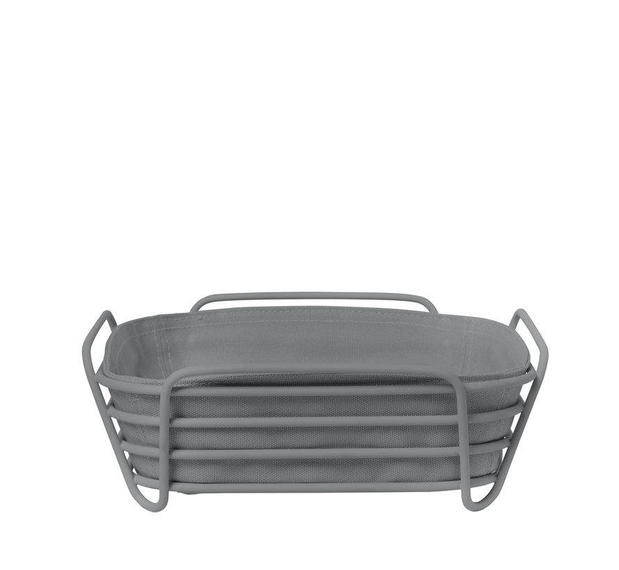 DELARA bread basket 26x26 cm (Sharkskin) 64073