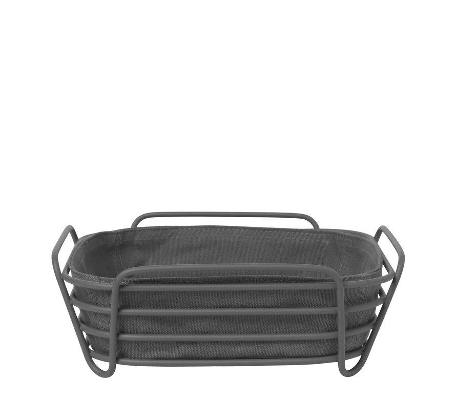 DELARA bread basket 26x26 cm (Magnet) 64072