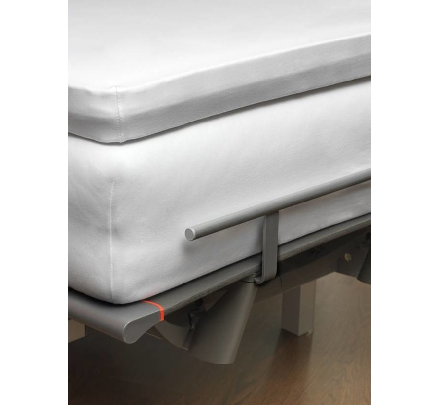 Jersey Soft split topper fitted sheet Brick Dust (stretch) SLGO721ST