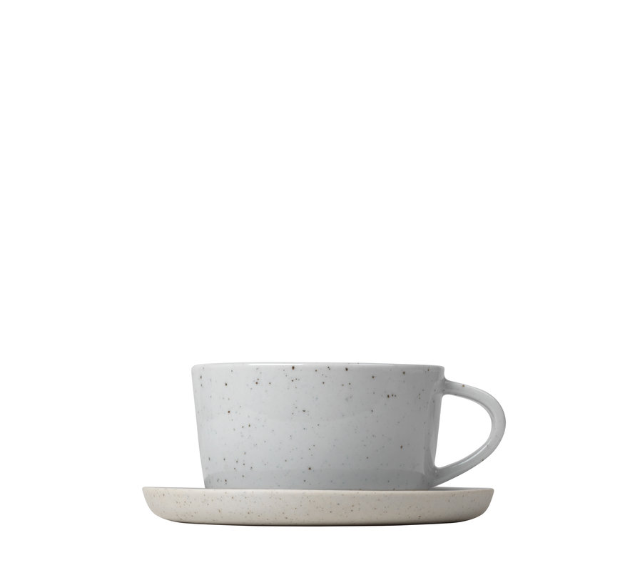SABLO 2 coffee cups 150ml with saucer (64112)