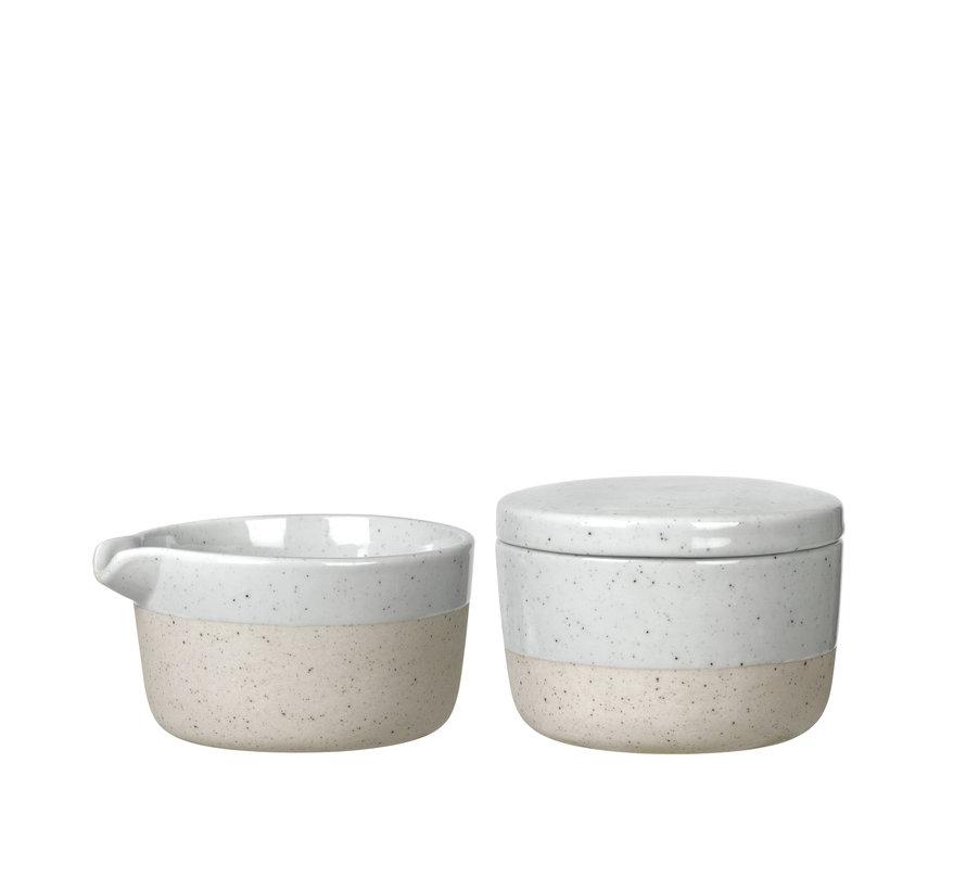 SABLO sugar bowl and milk jug (64116, 64117)