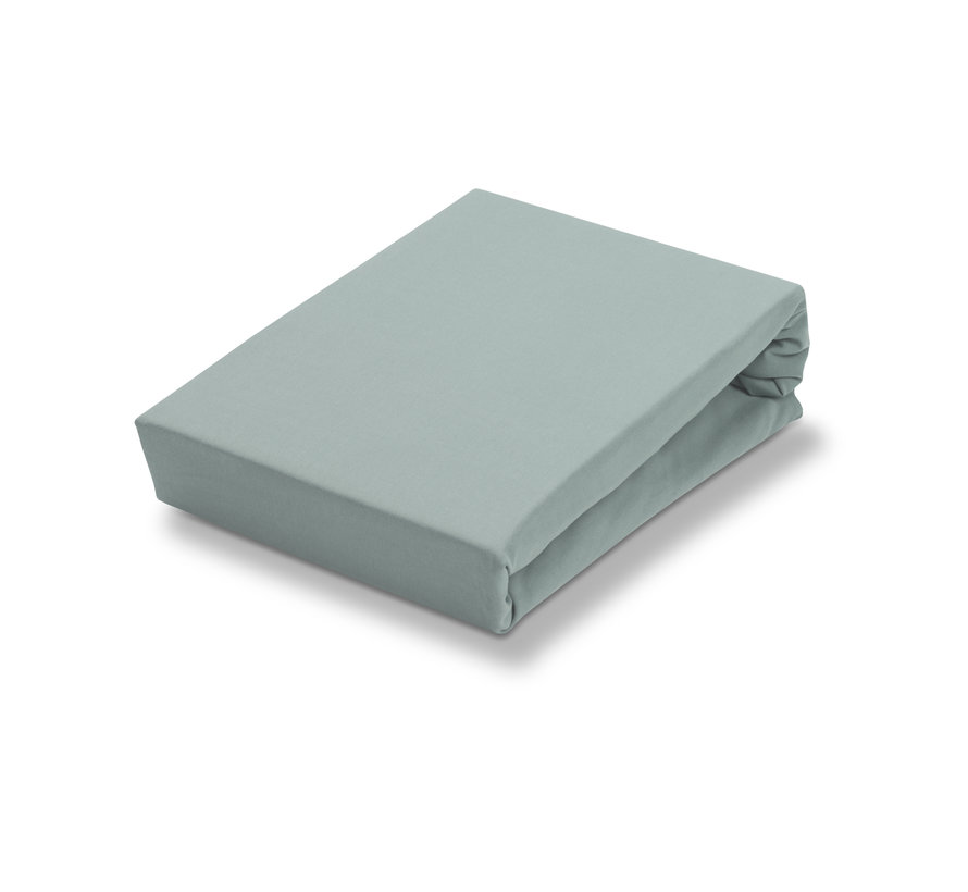 Jersey Soft split topper monteret ark Celadon Green (stretch) SLGO721ST