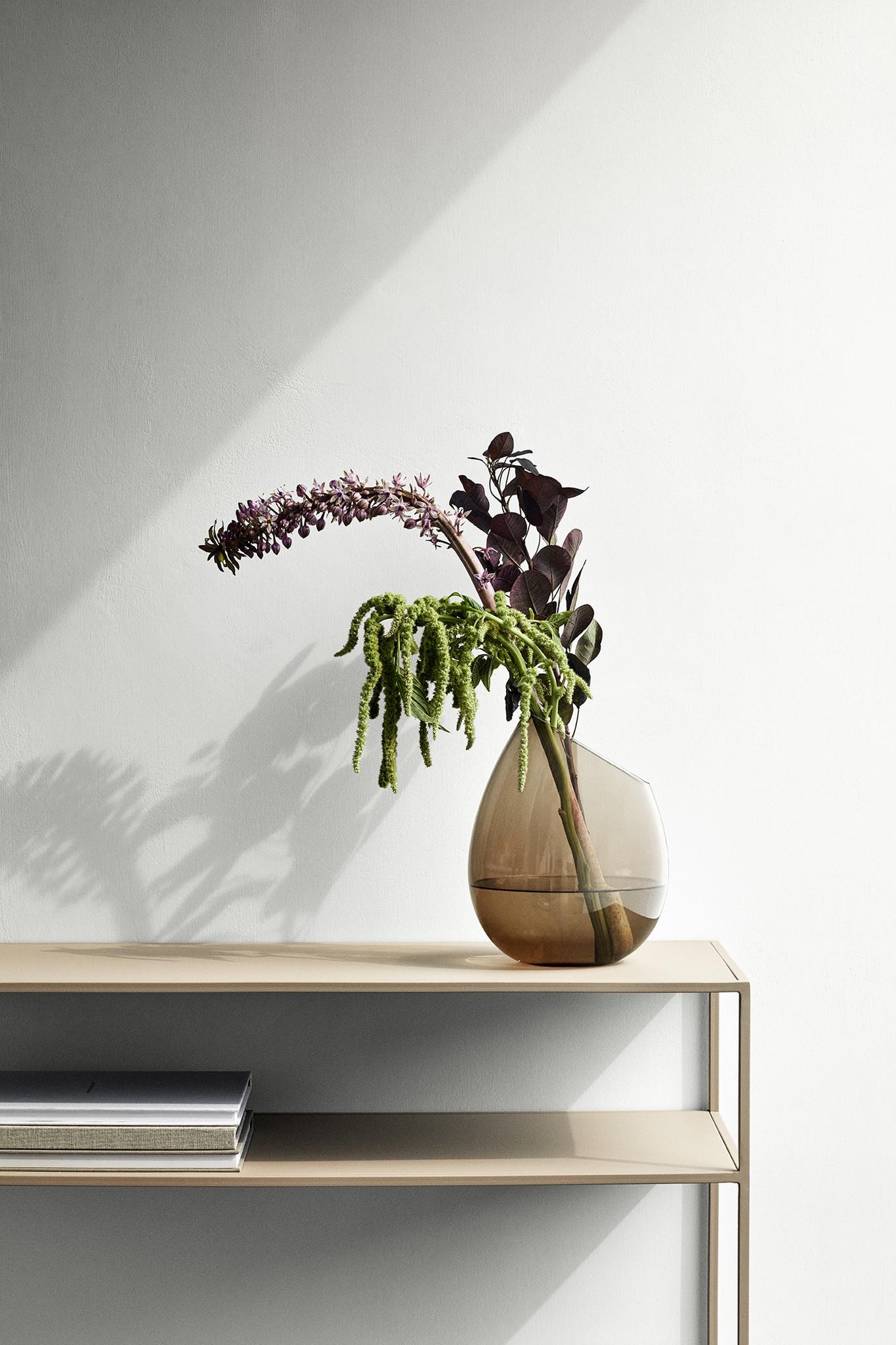 Blomus Fera colore Tavolo consolle 85 x 80 x 35 cm Nero